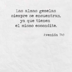 ★ Las almas gemelas_